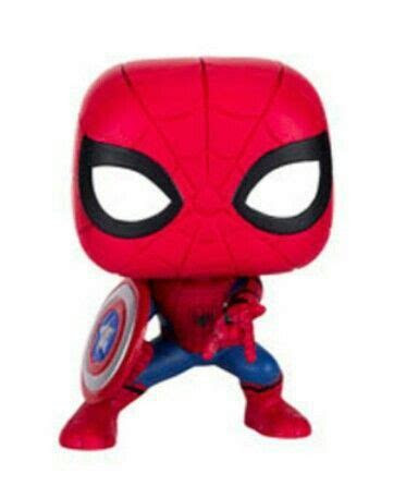 SpiderMan (Civil War) funko figure   TOYZ!!!!! (and other