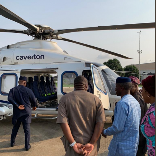 newson osinbajo chopper