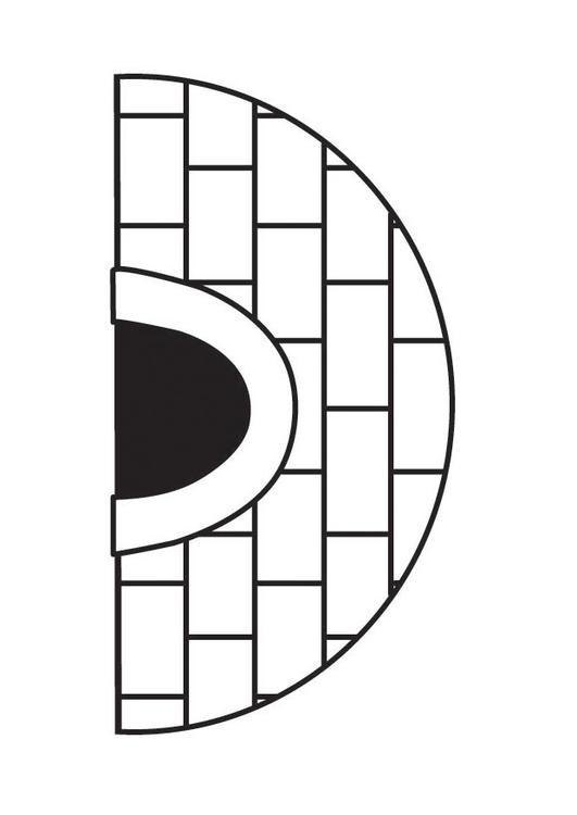 Dibujo Para Colorear Iglú Img 23162