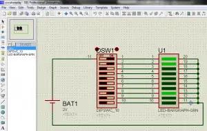 Graph Display Example Circuit