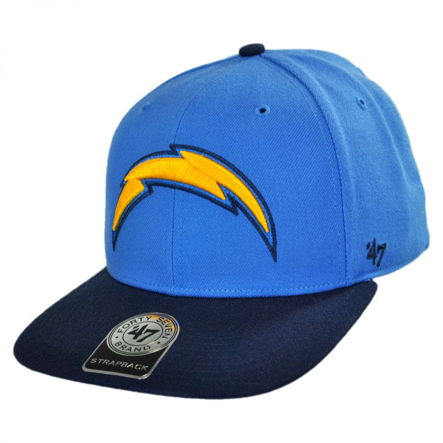 47 Brand San Diego Chargers NFL Sure Shot Strapback Baseball Cap NFL Football Caps