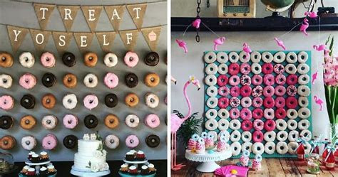 Donut Walls Is The Newest Wedding Trend That Will Win Over