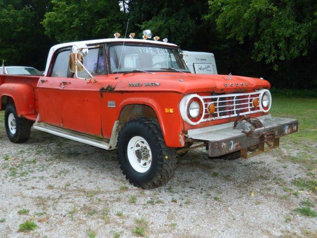 1970 Dodge Power Wagon Crew Cab D-200 for sale: photos ...