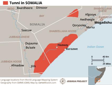 Tunni in Somalia