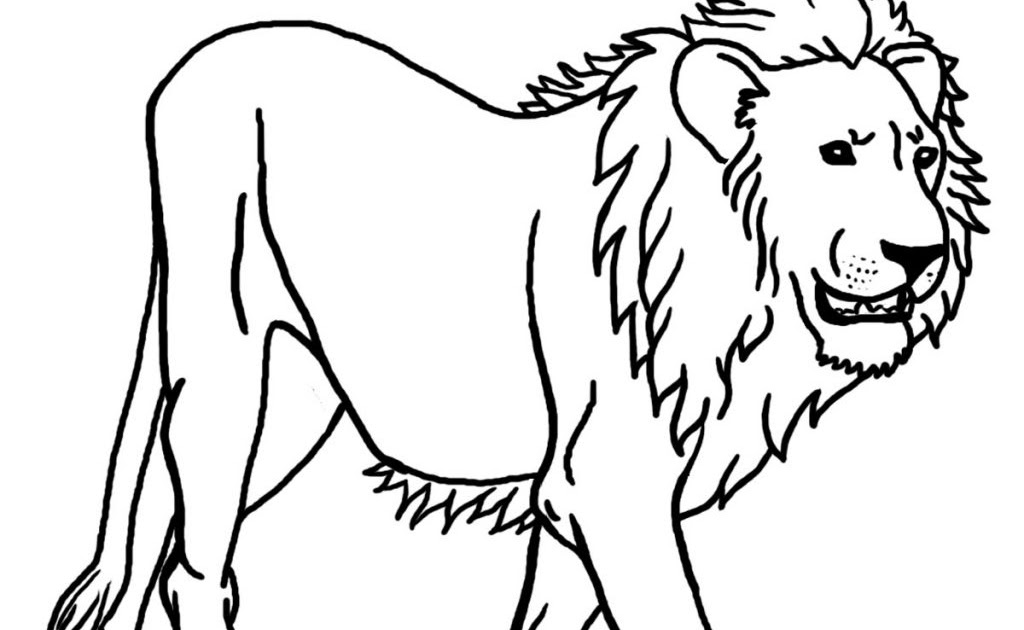 Kleurplaten Free Printable Lion Coloring Pages For Kids