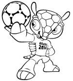 Coloriages Coupe Du Monde De Football 2014 Bonjour Les Enfants