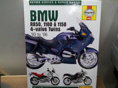 Bmw R1150GS service and repair manual