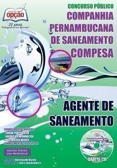 Apostila Concurso CompesaPE - AGENTE DE SANEAMENTO