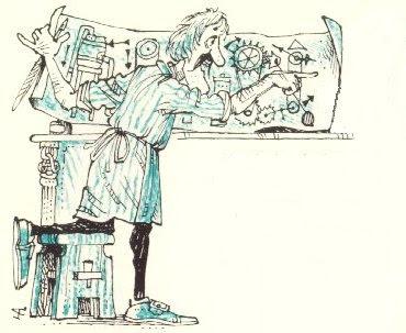 Olaf the Lofty, the scientist in Noggin the Nog