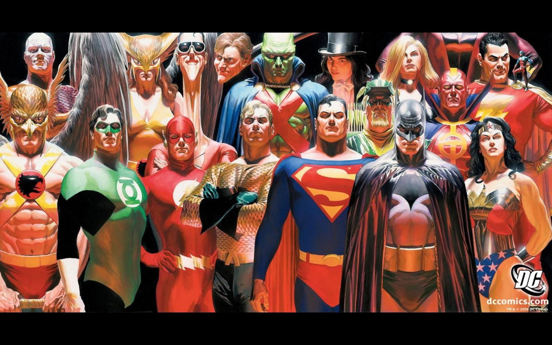 Alex Ross Justice League Wallpaper 62 Images
