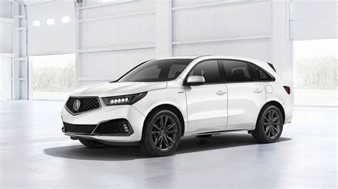 acura mdx debuts  nicer interior sporty  spec trim