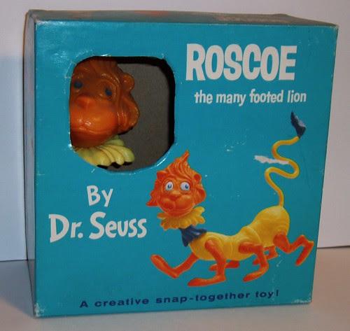 Dr Seuss Roscoe model kit
