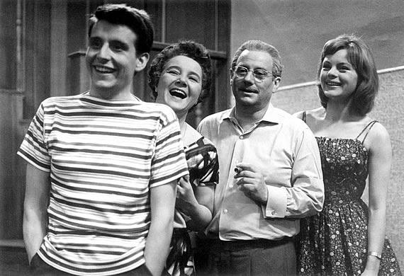 1961 Familie Hesselbach im Fernsehen