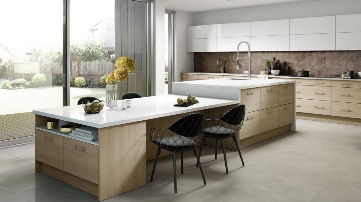 Küchentheke Design Küche Mit Tresen Ikea Planen Theke Wand ...