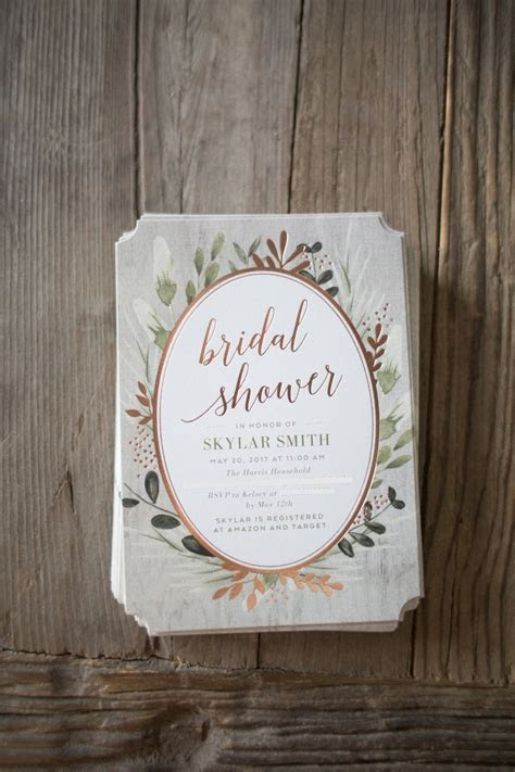 First Step to Planning a Bridal Shower  Fabulous Invitations!