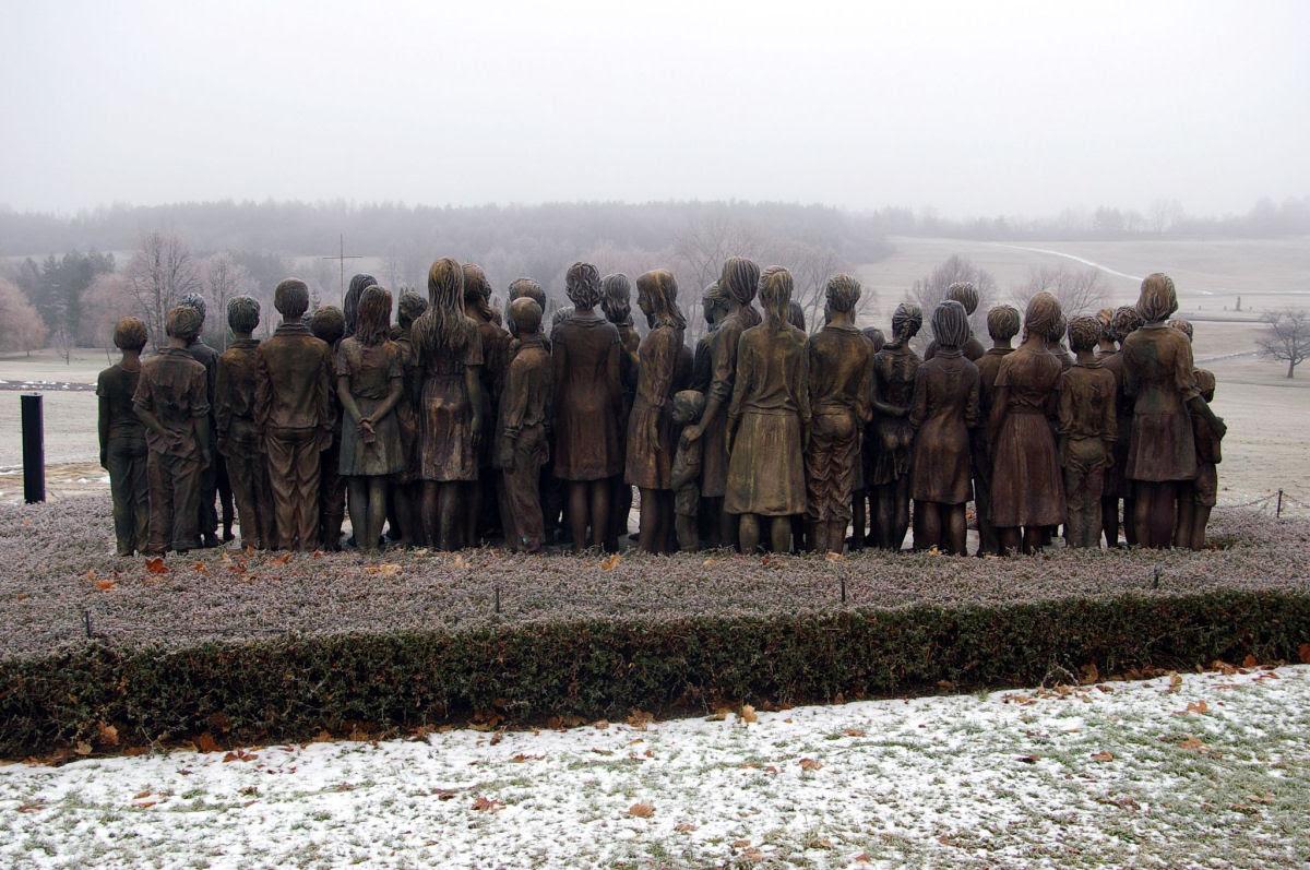 Memorial das Crianças Vítimas de Guerra em Lidice 15