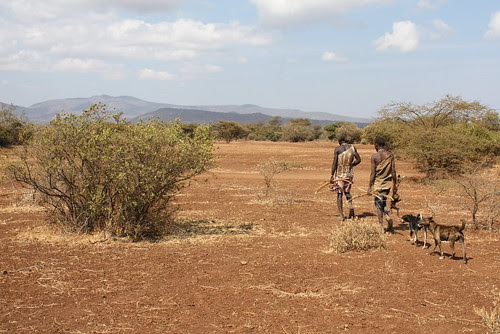 Returning from hunt