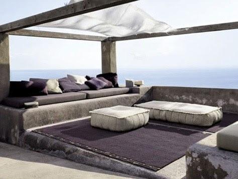 Decoraci n con muebles chill out para el verano - Chill out sofas ...