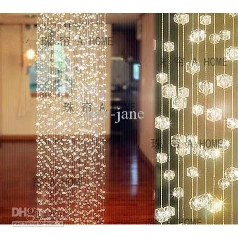 10strands x 1M(long) Crystal Curtain Wedding Decoration