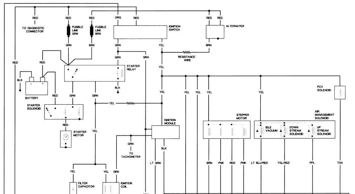 1988 jeep wrangler wiring diagram