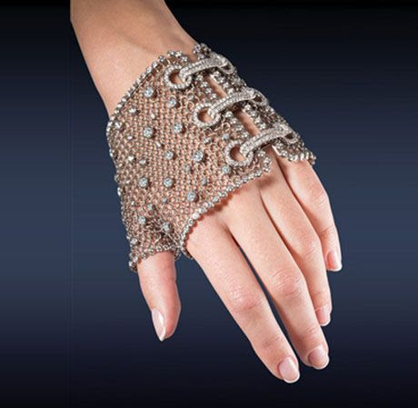Jewel of the day: Jacob and Co. Diamond Mesh Glove #jewelry #diamonds #luxury #style