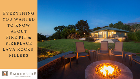 Everything You Wanted To Know About Fire Pit Fireplace Lava Rocks