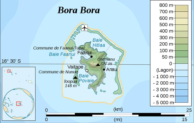 Where to stay in Bora Bora? - Bora Bora Map