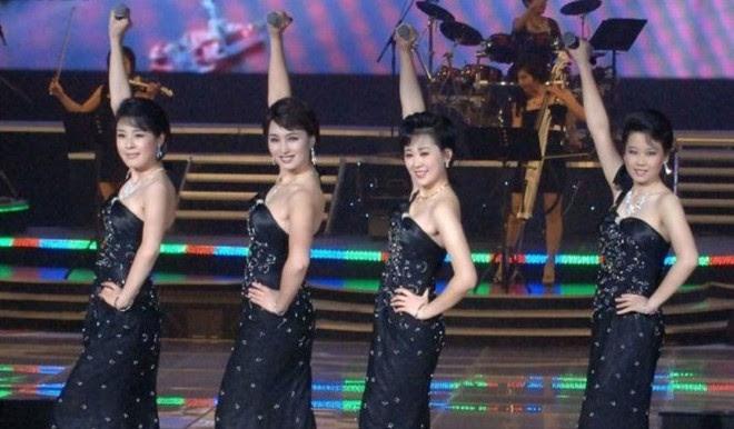 Hình ảnh Nhan sắc nhóm nhạc nữ duy nhất ở Triều Tiên do Kim Jong-un tuyển chọn số 4