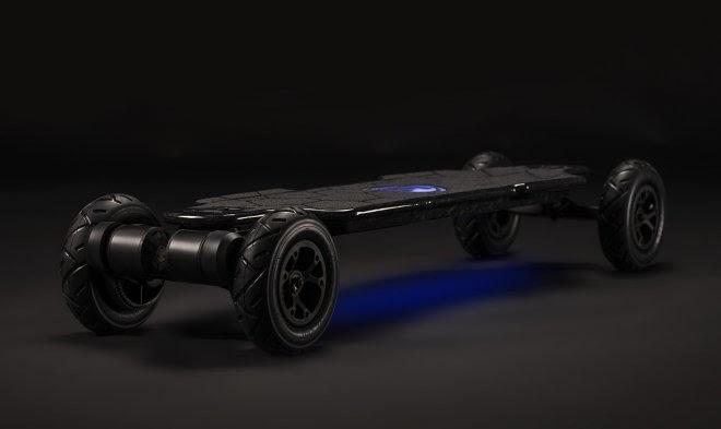 Электрический скейт Hadean от компании Evolve позволит разогнаться до 50 км/ч