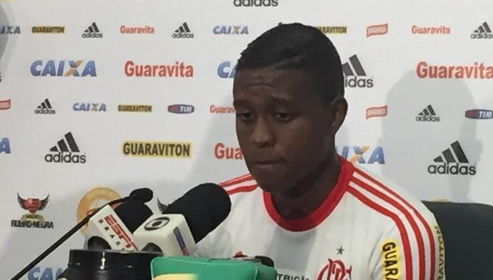 Jajá entrevista Flamengo (Foto: Felippe Costa)