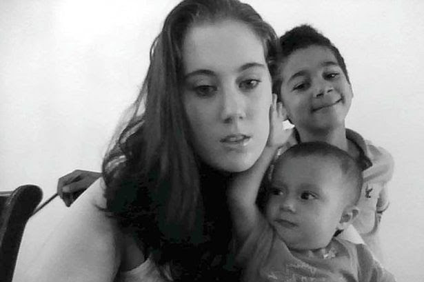 Samantha Lewthwaite with her two sons Abdullah (her eldest son, one she had with 7/7 bomber Germaine Lindsay) and Abdur-Rahman (younger son with Habib Ghani)
