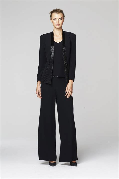 daymor couture  mother   bride pant suit french