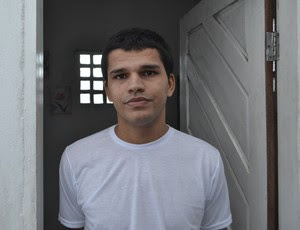 Thiago Potiguar - zagueiro - preso (Foto: Jocaff Souza/GloboEsporte.com)