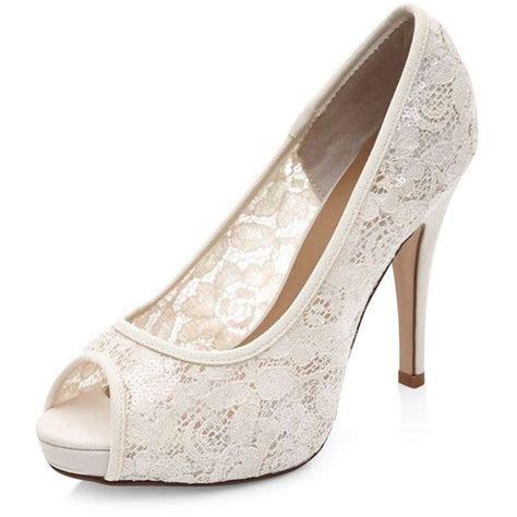 Best 25  White lace heels ideas on Pinterest   Wedding