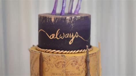 Harry Potter Wedding Cake ? Sugar Geek Show