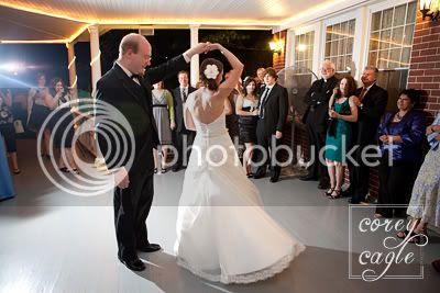 wedding reception at the Cedars