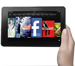 Kindle Fire: Vorderansicht