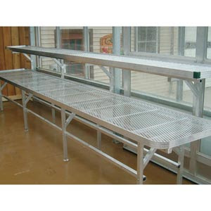 Premium Greenhouse Benches - FarmTek