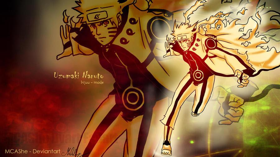 Wallpaper Naruto Mode Bijuu Anime Full Hd Wallpaper