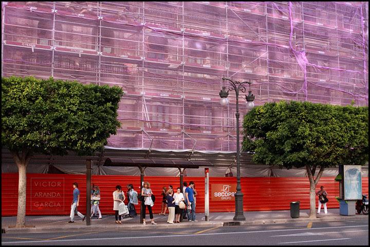 Valencia. Calle Colón
