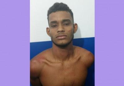 Fernando foi preso pela Polícia Militar (Foto: Ubatã Notícias)