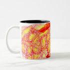 Fiery mug