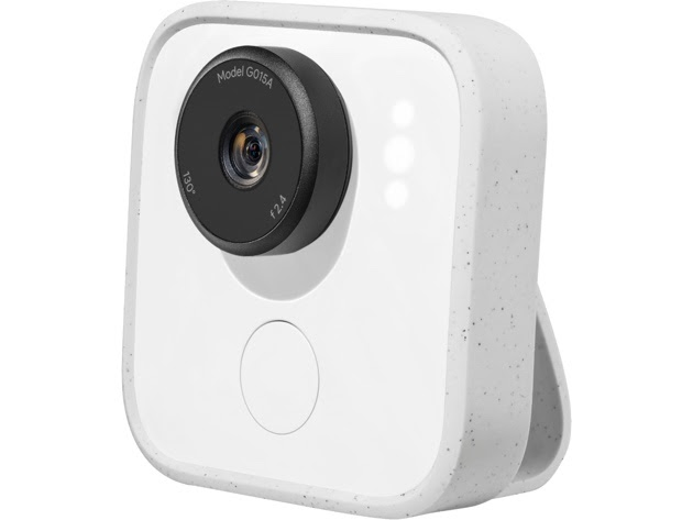Google Clips Hands Free Smart Camera for $109