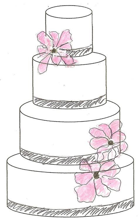 cake sketch   behind the scenes   Pinterest   Sketches