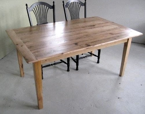 Products Reclaimed oak farm table Design Ideas, Pictures, Remodel ...