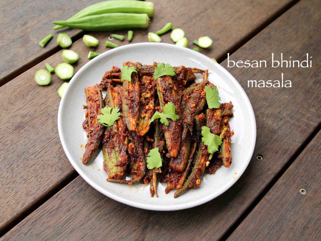 besan bhindi recipe   besan wali bhindi   rajasthani ...