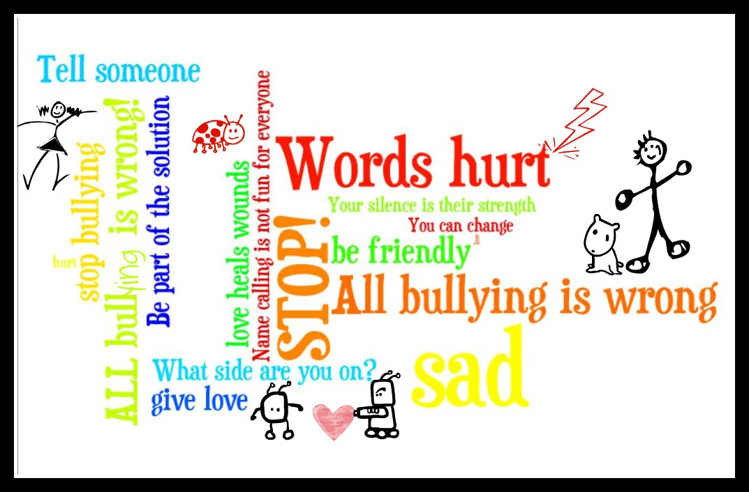 Words Hurt Stop Bullying 18wdk Clip Art Library