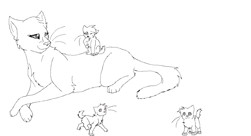 Warrior Cats Coloring Pages at GetDrawings   Free download