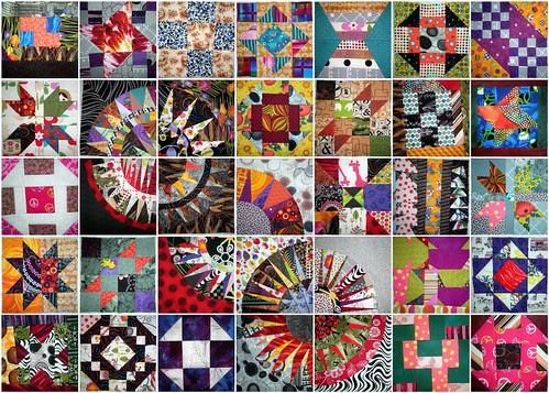 sampler quilt - WIP
