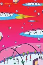Spacecraft, Spaceship, Space trip, Travel, A trip of the universe, Sea trip